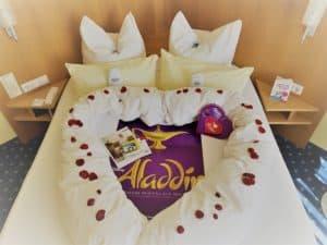 Herz über Kopf Bei Disneys ALADDIN Romantik Päckle Traumhaft Schlafen Im AKZENT Hotel Möhringer Hof Stuttgart