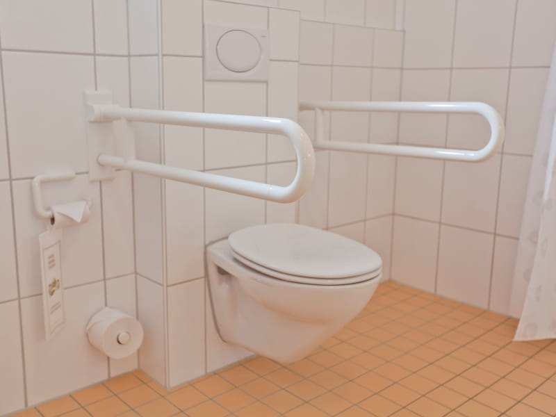 Barrierefreies Doppelzimmer WC