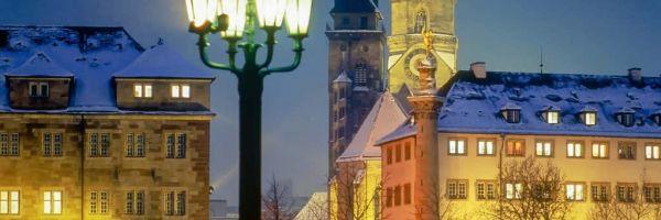 Weiße Weihnachten in Stuttgart