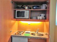 Apartment 2 Kitchenette Oberer Bereich