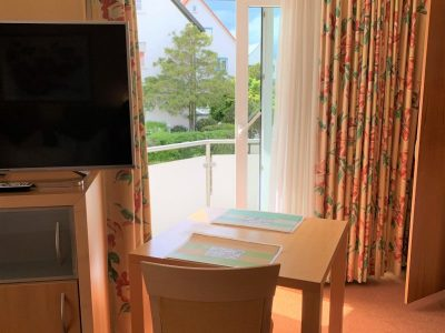 Apartment 3 Essbereich + Balkon