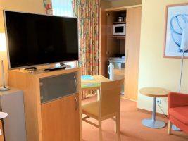 Apartment 3 Essbereich + Kitchenette