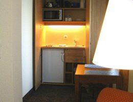 Kitchentte + Essbereich in den Hotelapartments 12, 16, 26
