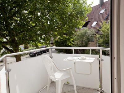 Kopfsalat Apartment 4 Balkon