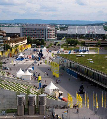 Messe Campus Airport 8625 C Messe Stuttgart