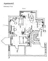 Apartment Grundriss Nr. 2