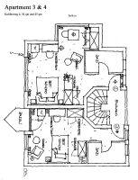 Apartment Grundriss Nr. 3 + 4