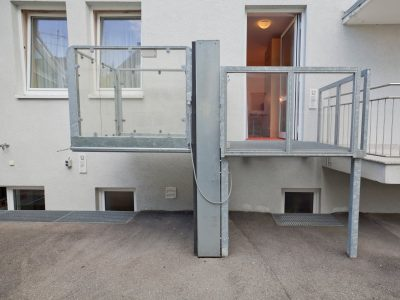 Barrierefreies Doppelzimmer Aufzug