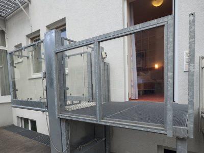 Barrierefreies Doppelzimmer Aufzug Zum Zimmer