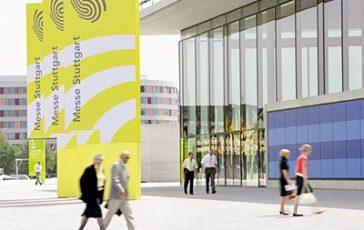 Eingang Ost Messe Stuttgart